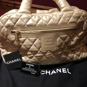 Chanel hold everything bag, with dust bag.
